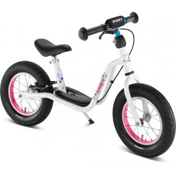 Rower biegowy LR XL biało-różowy 3+, Puky