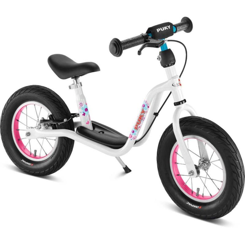 Rowerek biegowy LR XL biało-różowy 3+, Puky