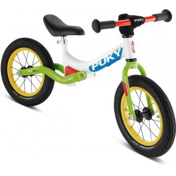 Rower biegowy LR Ride biało-zielony 3+, Puky