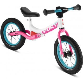 Rower biegowy LR Ride biało-różowy 3+, Puky