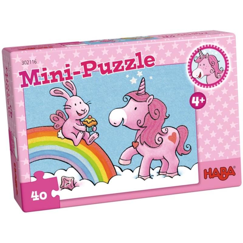 Puzzle Jednorożec 40 elementów, Haba