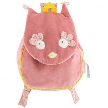 Moulin Roty pluszowy plecaczek Sowa dla małych dzieci