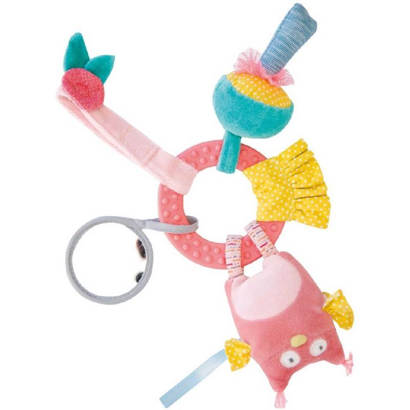Sowa zabawka edukacyjna dla niemowląt, Moulin Roty