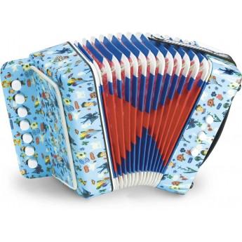 Akordeon zabawka muzyczna by Nathalie Lete, Vilac