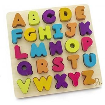 Alfabet układanka drewniana AlphaB.tical, B.Toys