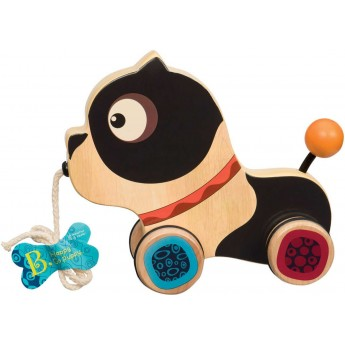 Piesek do ciągnięcia Happy Go Puppy, B.Toys