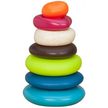 Piramida dla niemowląt Skipping Stones, B.Toys