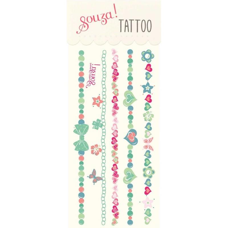 Tatuaże bransoletki zmywalne, Souza for Kids