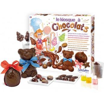 Zestaw do robienia czekoladek Kiosk z czekoladkami, SentoSphere
