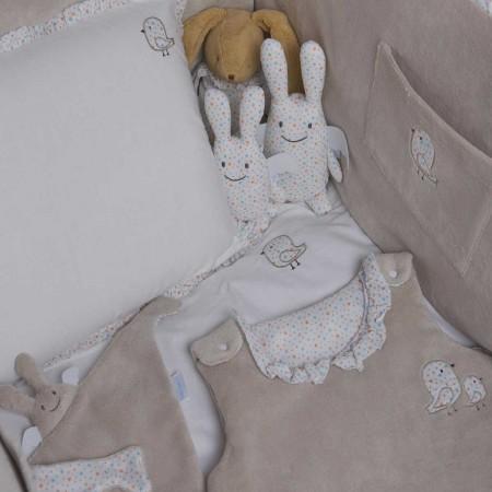 Becik dla noworodka miękki Gwiazdy 80cm, Trousselier