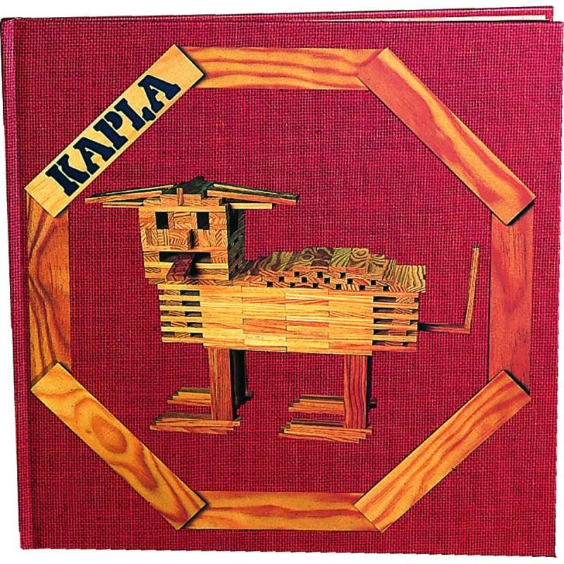 Książka Budowle 6+ Zwierzęta, Kapla