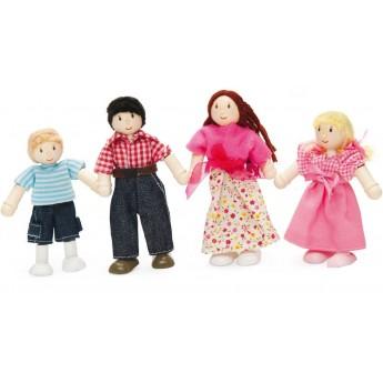 4 lalki drewniane Lato, Le Toy Van