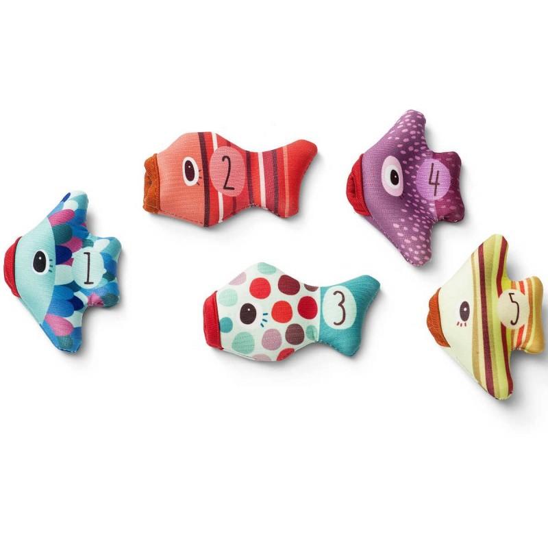 Zabawka do kąpieli Rybki Pacynki z neoprenu, Lilliputiens