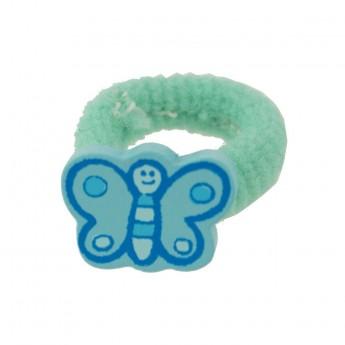 Gumka do włosów dla dzieci Niebieski Motylek, Vilac