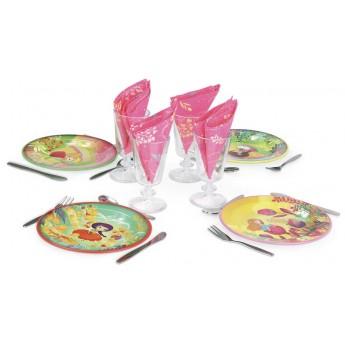 Naczynia kuchenne dla dzieci do zabawy metalowe, Vilac