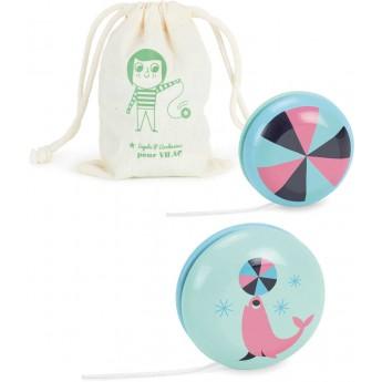 Zabawka jojo drewniane dla dzieci -Ingela P.Arrhenius, VIlac