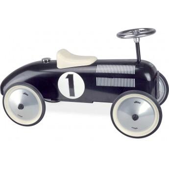 Vilac jeździk czarny metalowy dla dzieci od 18mc Black Vintage
