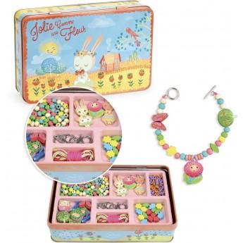 Biżuteria do robienia dla dzieci 330 elementów Ogród, Vilac