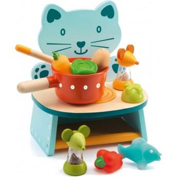 Kuchnia dla dwulatka z akcesoriami Felix, Djeco