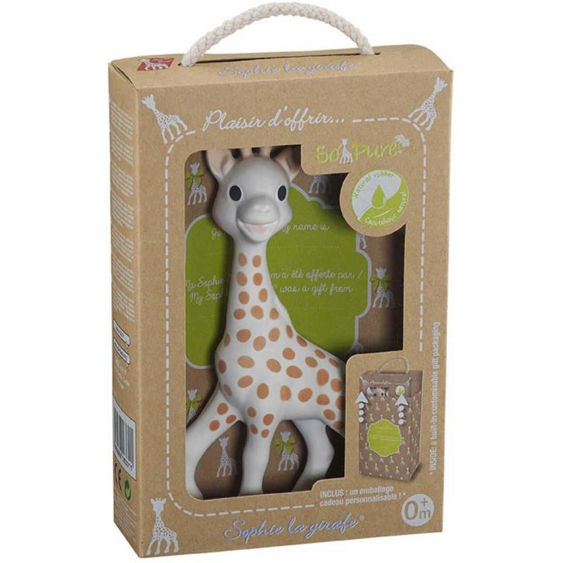 Żyrafa Sophie So'Pure w opakowaniu na prezent, Vulli