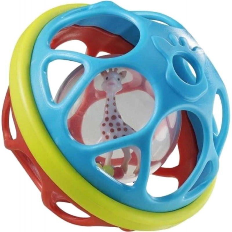 Piłka z grzechotką Żyrafa Sophie, Vulli