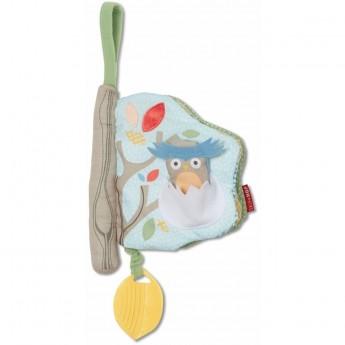 Skip Hop Książeczka Treetop Grey/Pastel dla niemowląt