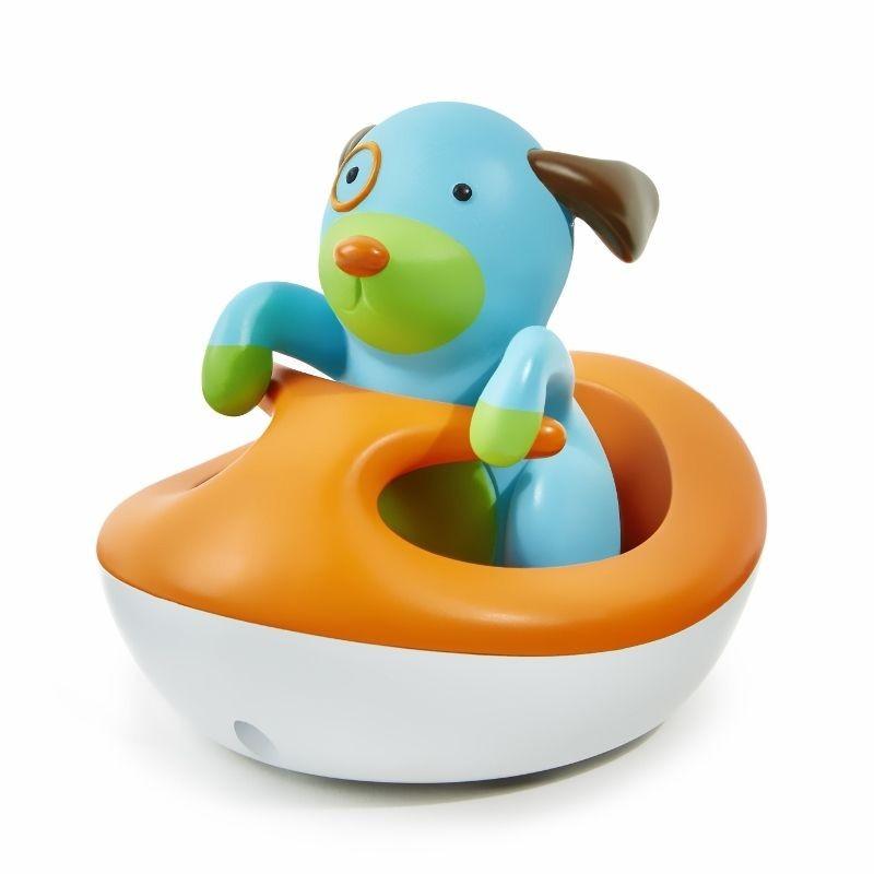 Zabawka do kąpieli Piesek Zoo i jego pływający pojazd, Skip