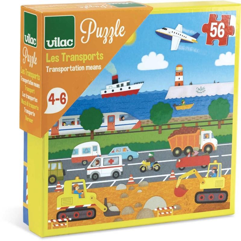 Puzzle Dla Dzieci Pojazdy 56 Elementow Vilac Dadum Krakow
