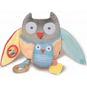 Zabawka Treetop Sowa Edukacyjna Grey/Pastel, Skip Hop