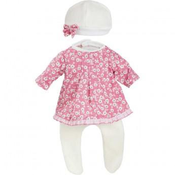 Ubranka dla lalek bobas Minette 27cm wzór Fanny, Petitcollin