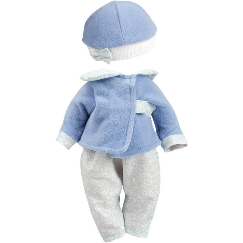 Ubranka dla lalek bobas Bibichou 35cm wzór Raphael, Petitcollin