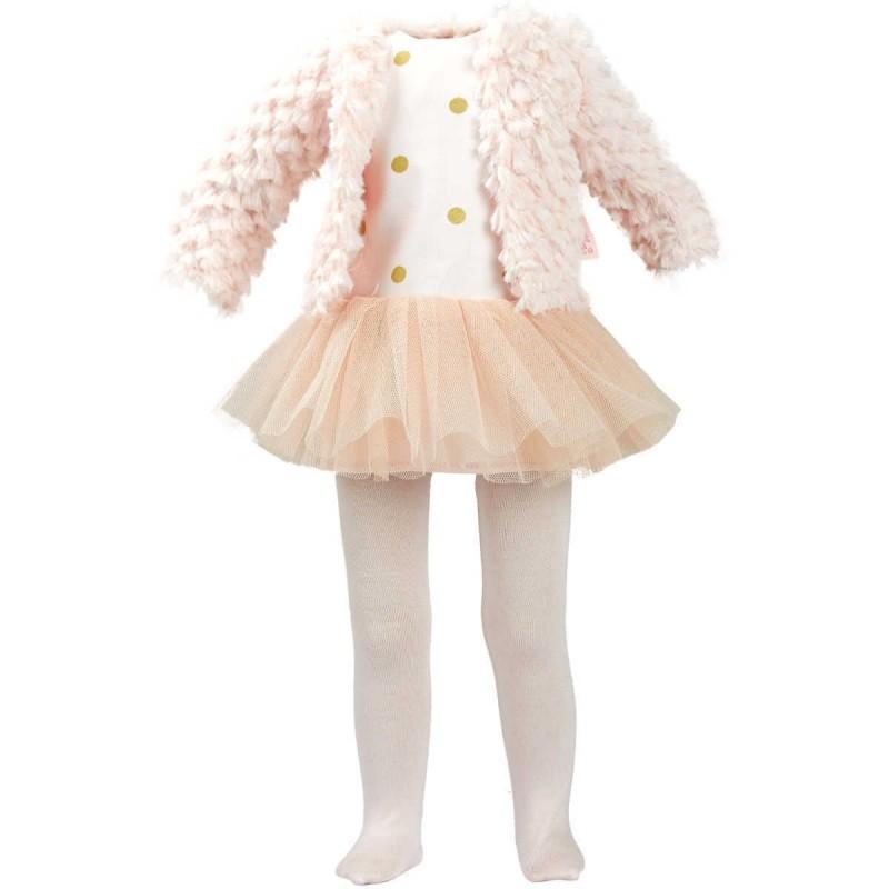 Ubranka dla lalek Starlette 44cm wzór Julia, Petitcollin