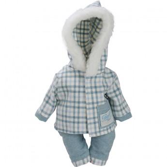 Ubranka dla lalek bobas 28cm wzór Śnieżynka, Petitcollin