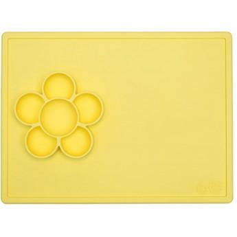 EZPZ Mata żółta z pojemnikami do prac plastycznych Flower Play Mat