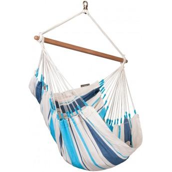 Caribeña Aqua Blue - Cotton Basic Hammock Chair