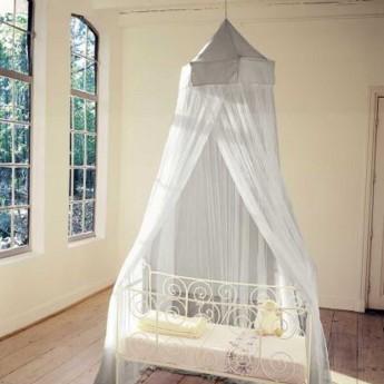 Moskitiera baldachim do łóżeczka Miguelito Elephant grey, Babylonia