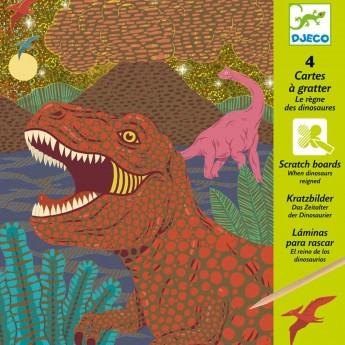 Wydrapanka Dinozaury zabawka plastyczna, Djeco