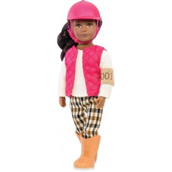 Lalka dla dziewczynki dżokejka Seraya z długimi włosami