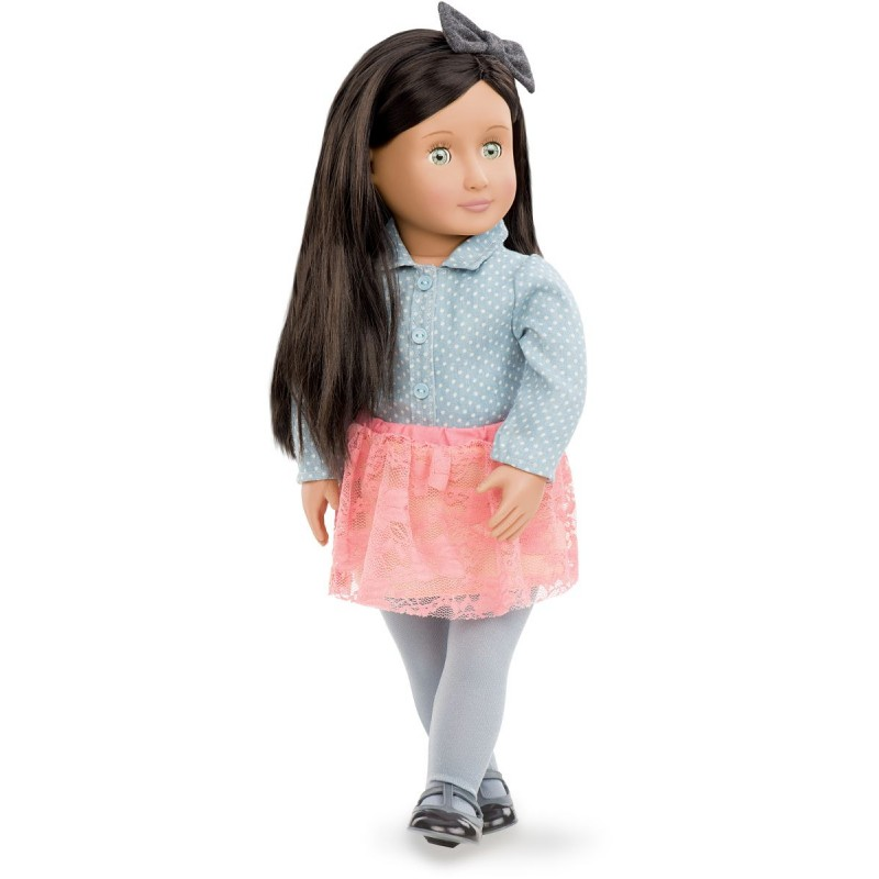 Lalka dla dzieci Elyse 46cm z długimi włosami, Our Generation