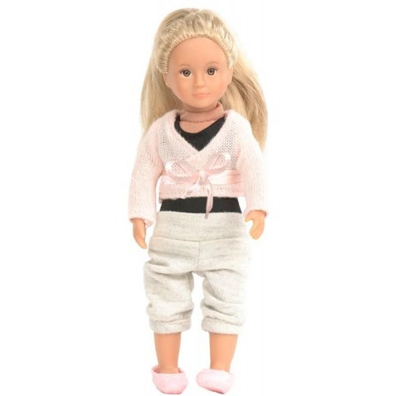 Lalka dla dziewczynki tancerka Analeigh z długimi włosami
