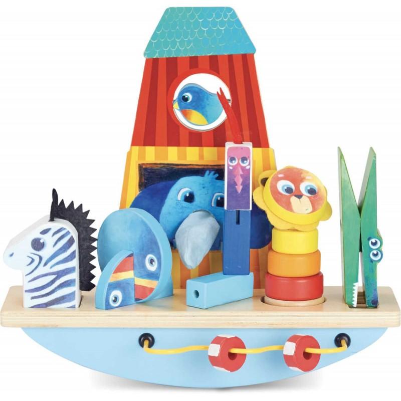 Gra zręcznościowa balans Arka Noego, Vilac