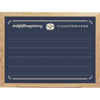Duża tablica ścienna czarna kredowa Vintage, Vilac