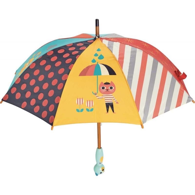 Parasolka drewniana dla dzieci Miś by Ingela P. Arrhenius, Vilac