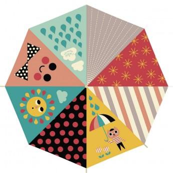 Parasolka drewniana dla dzieci Kot by Ingela P. Arrhenius, Vilac