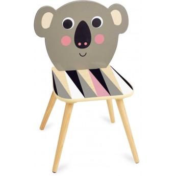 Krzesło drewniane dla dzieci Miś Koala by I.P. Arrhenius, Vilac