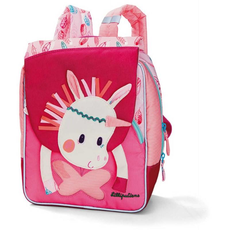 Prostokątny plecak dla dzieci Jednorożec Louise, Lilliputiens