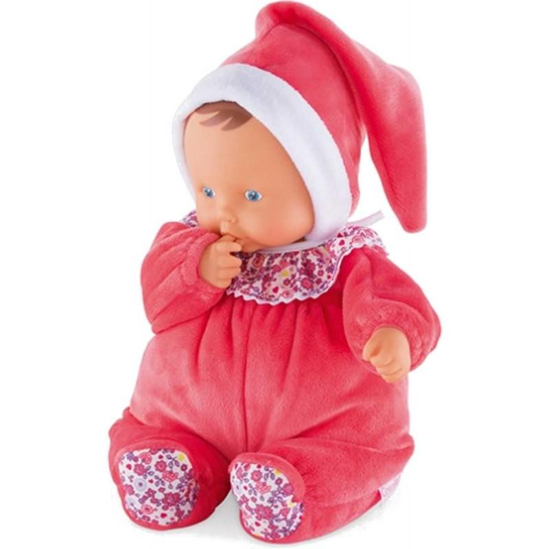 Lalka bobas szmacianka dla niemowląt Babipouce Floral Bloom, Corolle