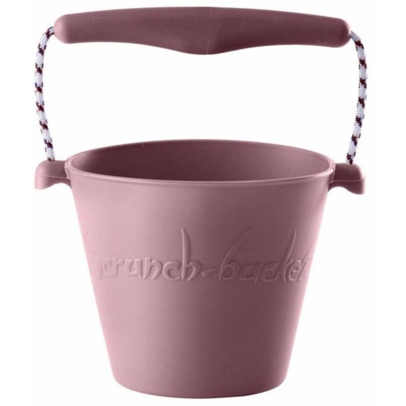 Wiaderko pudrowy róż Scrunch-Bucket, Funkit World