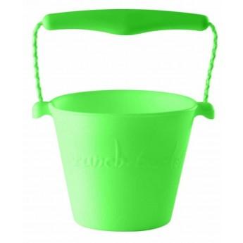 Wiaderko zielone fluo Scrunch-Bucket, Funkit World