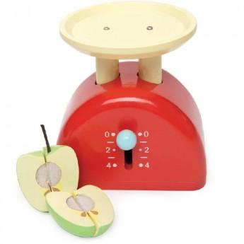 Waga kuchenna drewniana z jabłkiem, Le Toy Van